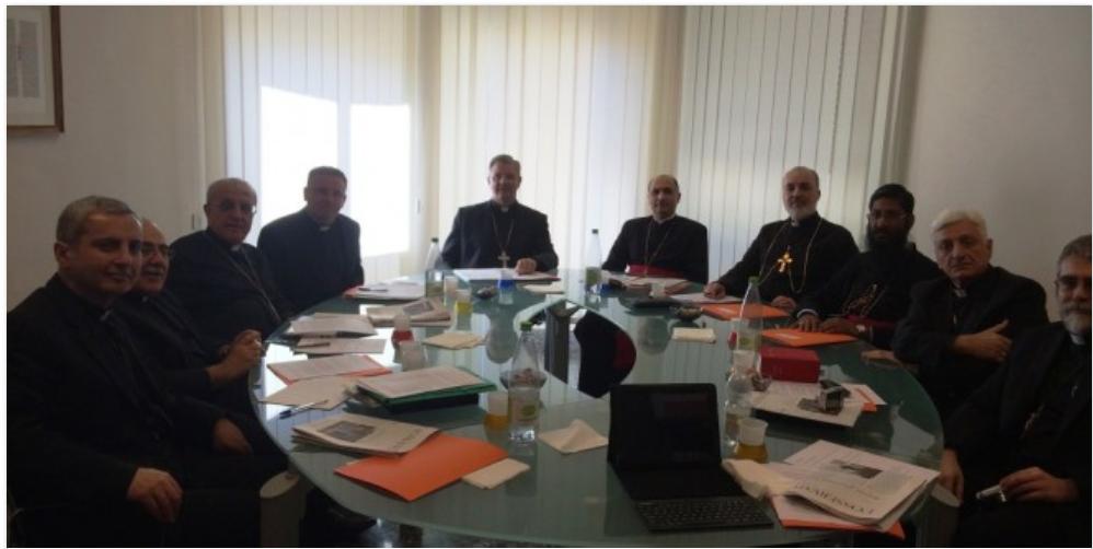 زيارة قداسة مار دنخا الرابع بطريرك كنيسة المشرق الآشوريّة  إلى روما للفترة من 1-4 تشرين الأول 2014