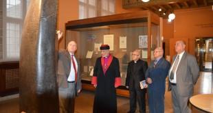 زيارة قداسة البطريرك مار كيوركيس الثالث صليوا الى جامعة شيكاغو