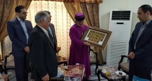 زيارة وفد البرلمان الايراني لقداسة البطريرك مار كيوركيس الثالث صليوا