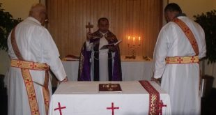 قداس عيد الصعود في كنيسة المشرق الاشورية في ويلنكتون