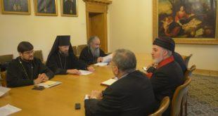 انعقاد اللقاء الاول للجنة الحوار الثنائي بين الكنيستين، الارثذوكسية الروسية والمشرق الاشورية في موسكو