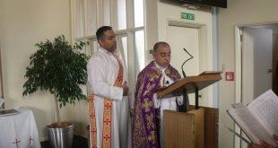 قداس عيد العنصرة وتذكار حافظة الزروع في كنيسة المشرق الاشورية في ويلنكتون