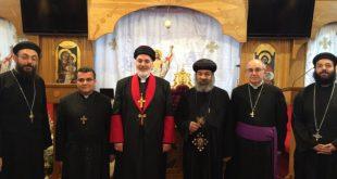 إجتماع لسكرتيري المجمعين السينوديسيين المقدسين، للكنيستين المشرق الآشورية، والقبطية الارثذوكسية