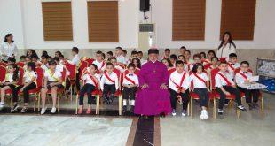 """قداسة البطريرك مار كيوركيس الثالث، يرعى حفل تخرج دورة """"مار دنخا الرابع"""" للتعليم المسيحي ولغة الأم في عينكاوة"""