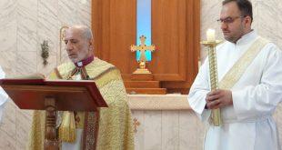 """قداسة البطريرك مار كيوركيس الثالث صليوا، يترأس قداس تذكار """"رقاد مريم العذراء"""" في كنيسة مار يوخنّا المعمدان"""