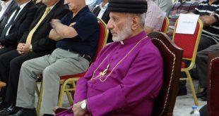 قداسة البطريرك مار كيوركيس الثالث صليوا، يحضر احتفالاً تأبينياً ليوم الشهيد الآشوري في عينكاوة