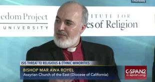 وفد كنيسة المشرق الآشورية يشارك في  أعمال مؤتمر عن الحرية الدينية في واشنطن