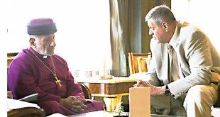 قداسة البطريرك مار كيوركيس الثالث صليوا يلتقي ممثل الأمين العام للأمم المتّحدة