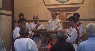 ابرشية بغداد تنظم قداساً تأبينياً على راحة المرحوم الاركذياقون توما القس ابراهيم  في كنيسة مار قرداغ الشهيد