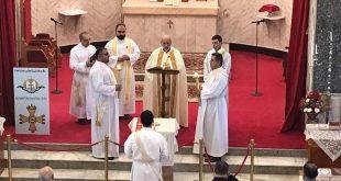قداسة البطريرك مار كيوركيس الثالث صليوا، يترأس قداس اليوم الثالث لوفاة الاركذياقون توما القس ابراهيم في اربيل