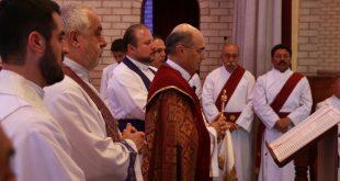 غبطة المطران مار ميلس زيا، يترأس القداس التأبيني لوفاة الاركذياقون توما القس ابراهيم في سيدني