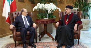 غبطة المطران مار ميلس زيا يلتقي فخامة رئيس الجمهورية اللبنانية العماد ميشال عون في قصر بعبدا