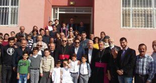 غبطة المطران مار ميلس زيا يزور منظمة كابني