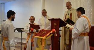 نيافة الاسقف مار عبديشوع أوراهام، يقيم قداس إلهي لمناسـبة عيد الدنح