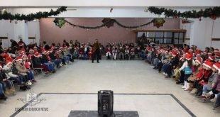 احتفالية الميلاد للاطفال في الاردن برعاية منظمة اسيرو