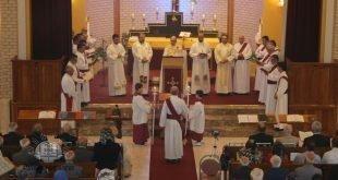غبطة المطران مار ميلس زيا يترأس قداس عيد الدنح المبارك في سيدني