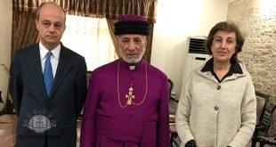 قداسة البطريرك مار كيوركيس الثالث صليوا يلتقي سعادة السفير الإسباني لدى جمهوريّة العراق