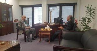 زيارة غبطة المطران مار ميلس زيا الى قنصلية جمهورية العراق في سيدني