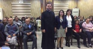 امسية موسيقية لعيد الام، ومحاضرة شهرية في كنيسة مار عوديشو في بغداد
