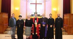 مجلس كنائس ولاية NSW ، يقيم صلاة من أجل السلام في كاتدرائية القديس ربان هرمزد في سيدني