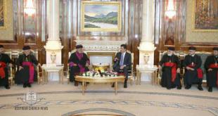 قدّاسة البطريرك مار كيوركيس الثالث صليوا يزور دولة رئيس وزراء اقليم كوردستان