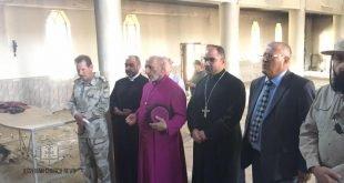 قداسة البطريرك مار كيوركيس الثالث صليوا، يتفقد قضاء تلكيف والجانب الايسر من الموصل