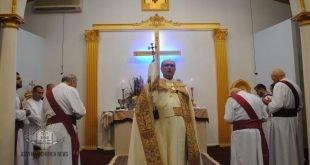 غبطة المطران مار ميلس زيا يقيم قداس تذكار القديسة مريم العذراء في سيدني