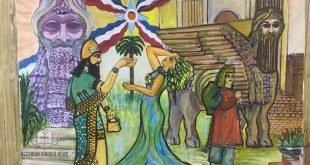 """""""تراثنا وحضارتنا عنوان أصالتنا""""، نشاط اليوم الخامس لمهرجان مار عوديشو الثاني في بغداد"""