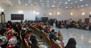 قداسة البطريرك مار كيوركيس الثالث صليوا يحضر حفلاً للاطفال في رعيّة مار يوخنّا المعمدان – عينكاوة