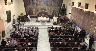 أرسالية مارت شموني لكنيسة المشرق الآشورية في عمان تحتفل بأعياد الميلاد ورأس السنة الميلادية الجديدة