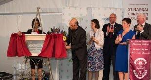 غبطة المطران مار ميلس زيا، يفتتح رسمياً مجمع كلية مار نرساي الآشورية في سيدني، كأول كلية في المهجر