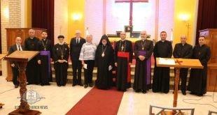 صلاة من أجل السلام في كاتدرائية القديس ربان هرمزد في سيدني