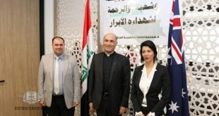 غبطة المطران مار ميلس زيا، يزور قنصلية جمهورية العراق في سيدني