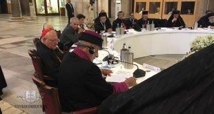 قداسة البطريرك مار كيوركيس الثالث صليوا يشارك في لقاء بطاركة الشرق، من أجل صلاة مسكونية في مدينة باري الايطالية