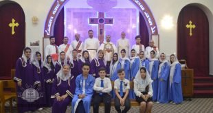 قداس واحتفال لمناسبة تذكار القديسة مريم العذراء، في بغداد