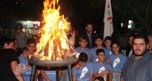احتفال بمناسبة عيد الصليب في لبنان