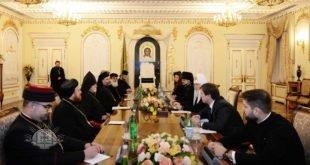 نيافة الاسقف مار أبرس يوخنا، يشارك في اجتماع مجلس رؤساء الطوائف المسيحية مع بطريرك موسكو وعموم روسيا