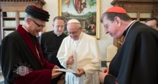 لقاء اذاعة SBS مع غبطة المطران مار ميلس زيا عن لقاء قداسة البابا الأخير مع قداسة البطريرك مار كيوركيس الثالث صليوا وعن المشاريع التربوية الكنسية الأسترالية