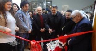 الاب كيوركيس يوسف، يفتتح في كركوك، المعرض السنوي الخاص لعيد الميلاد