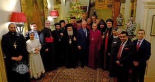 قداسة أبينا البطريرك مار كيوركيس الثالث صليوا، في لندن للمشاركة في صلاة سلام