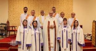 نيافة الأسقف مار عبد يشوع اوراهام يترأس الشـاهرتا والقداس الليلي لعيـد الميلاد المجيد