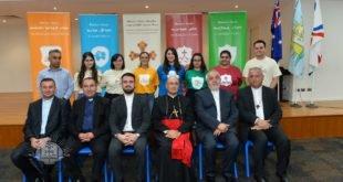 غبطة المطران مار ميلس زيا، يبارك الهيكلة الجديدة لجمعية شباب كنيسة المشرق الآشورية في سيدني