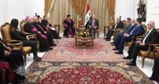 رئيس جمهورية العراق: الانسجام الديني يعكس التعايش السلمي بين مكونات المجتمع