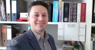 حصول الشماس روني بطرس ارميا على شهادة الماجستير من جامعة برلين الحرة، قسم اللغات السامية
