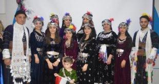 شبيبة كنيسة مريم العذراء في بغداد، يقيمون احتفالية رأس السنة الآشورية