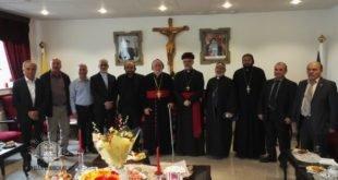 نيافة الأسقف مار عبديشوع أوراهام، يزور أصحاب الغبطة والنيافة من الكنائس الشقيقة