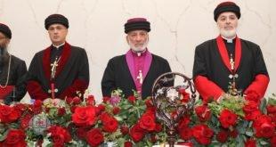 بحضور قداسة البطريرك مار كيوركيس الثالث صليوا، ابرشية استراليا تقيم حفلاً خاصاً لارتسام نيافة الاسقف مار اوراهام يوخانس
