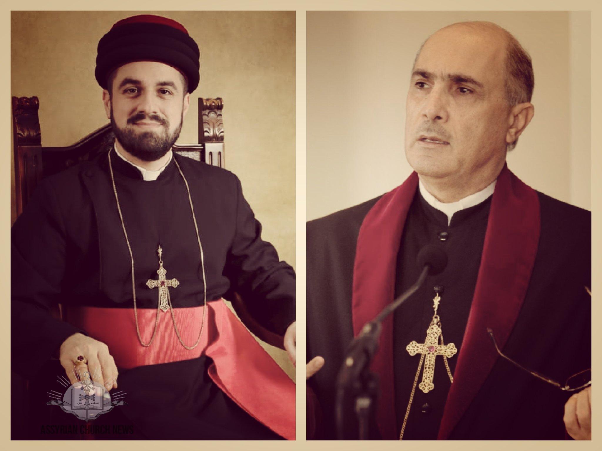 555c28250 رسالة تهنئة من غبطة المطران مار ميلس زيا إلى نيافة الأسقف مار أوراهام يوخانس