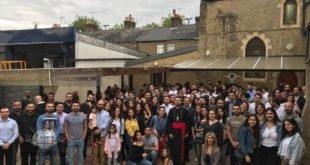 شباب لندن، يلتقون نيافة الاسقف مار اوراهام يوخانس