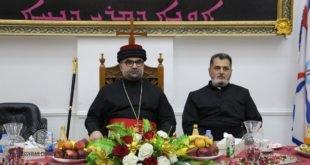 الزيارة الاولى لنيافة الاسقف مار ابرس يوخنا لمدينة كركوك